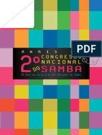 Anais Do 2º Congresso Nacional Do Samba V1