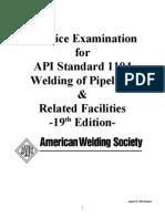 Practice Examination API 1104.doc