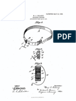 US Patent for Retractable Dog Leash From 1908