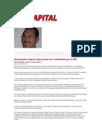 15-06-2014 La Capital - Destacadas mujeres que pueden ser candidatas por el PRI.
