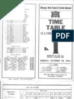 CRI&P IL Div TT #1 Oct 30 1966