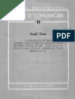 03 BINDER Rudolf - 1958 Consideratii