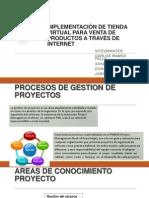 Implementación de Tienda Virtual Para Venta de Productos