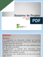 b Relatório de Projeto