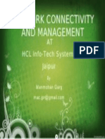 Network Connectivity and Management