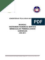Manual Numerasi Bertulis LD