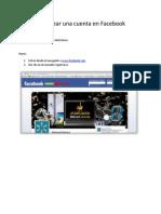 1 Crear Una Cuenta en Facebook