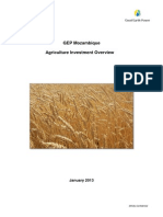 Mozambique  Agriculture Investment Overview