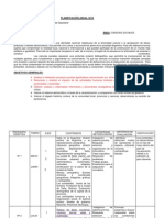 Planificación Cs Sociales 4º (Pci)2014