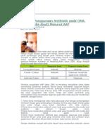 Panduan Penggunaan Antibiotik Pada OMA