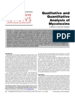 Qualitative and Quantitative Analysis of Mycotoxins