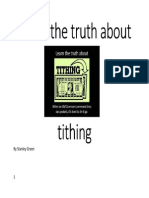Learn the Truth About Tithing