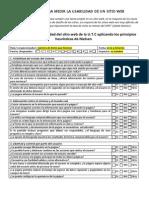 CheckList Para Medir La Usabilidad de La UTC