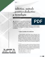 Dialectica Metodo Hipotético Deductivo