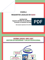 Charla Requisitos Legales SySO - AV 2013
