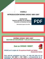 Introducción Norma OHSAS - Marzo 20 de 2011