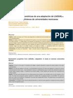 Dialnet-PropiedadesPsicometricasDeUnaAdaptacionDeLibQUALUn-4530266