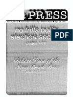 The Stony Brook Press - Volume 10, Issue 12