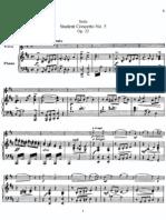 IMSLP77138-PMLP155530-FSeitz Student Concerto No.5 for Violin and Piano Op.22 Piano Score