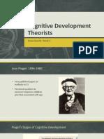 cognitive development theorists-week 2