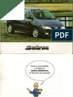 Manual de Usuario Scenic 1999