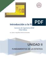Unidad II - Fundamentos de Estatica