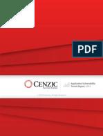 Cenzic Vulnerability Report 2014