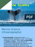 SCE 201 (Marine Science)