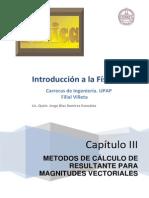 Unidad III - Metodos de Cálculo de Resultante Para Magnitudes Vectoriales