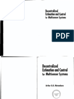 Decentralized Estimation and Control for Multisensor Systems