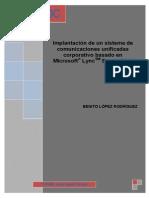 Proyecto Impl Lync 2010