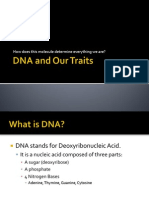 dna and our traits