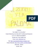 Cuento El Zorro y La Paloma
