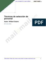 Tecnicas Seleccion Personal 4804