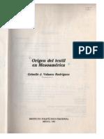 ORIGEN DEL TEXTIL EN MESOAMÉRICA