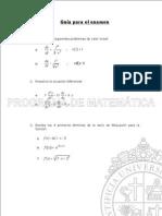 Guia Repaso Examen Mat430