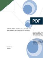 Tesis Daniel (Evaluacion Tecnica Economica de La Conversion a Gas de Las Calderas 3 y 4 de PLANTA)