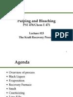 Kraft Chemical Process Engineering Presentation