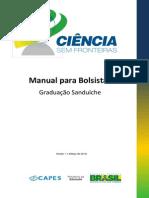 Manual Do Bolsista - CsF Graduação Sanduíche - Versão 1-1 - Março de 2014