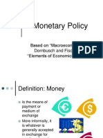7 Monetary Policy Lecture