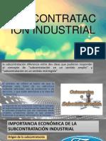 Subcontratación Industrial