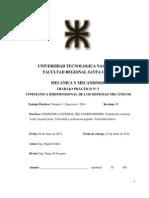 Tp Nro 3 - Mecanica y Mecanismos - 2014