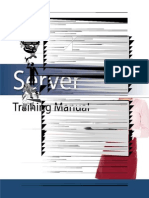 Server Training Manual for Manager