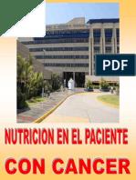 Nutricion en El Paciente Con Cancer