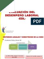 6 Evaluacic3b3n Del Desempec3b1o 2012