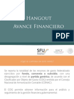 Carga a Nivel Financiero