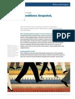 Economic Conditions Snapshot June 2014 McKinsey Global Survey Results