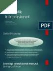 interaksi linguistik