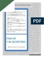 Gramatica Para Mí y Mi Secretaria1