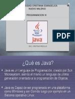 Programacion IV Java